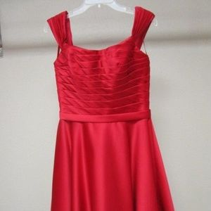 Allure formal bridesmaid or prom dress NWT